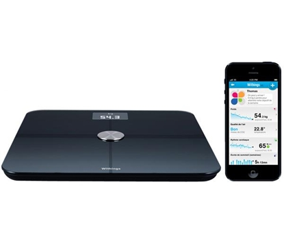 Afbeelding van Withings WS-50 Smart Body Analyzer Zwart