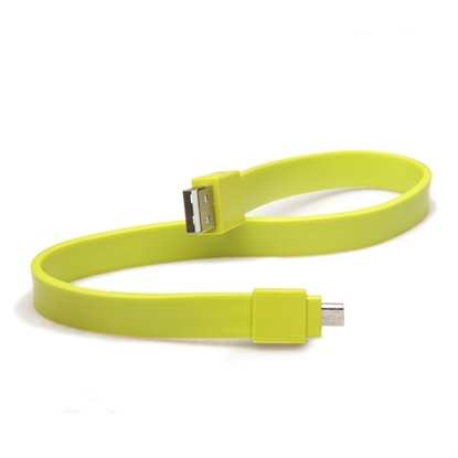 Picture of Tylt Syncable microUSB 30cm Groen