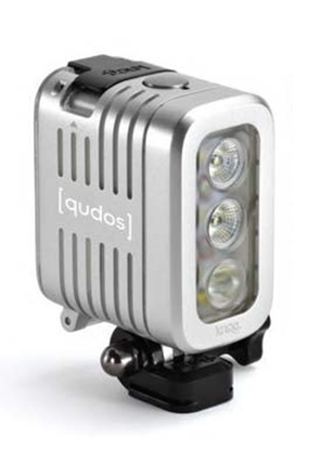 Picture of Knog Qudos Action Light Silver