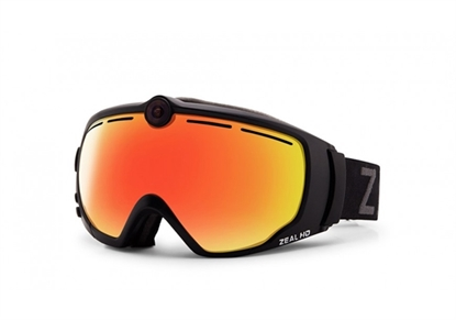 Picture of Zeal Optics HD2 V3.0 skibril met camera Zwart/Oranje