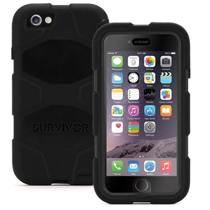 Afbeelding van Griffin Survivor Case Apple iPhone 6 Zwart