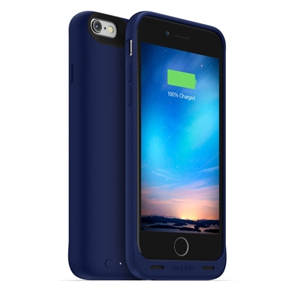 Picture of Mophie Juice Pack reserve iPhone 6 en 6S Blauw