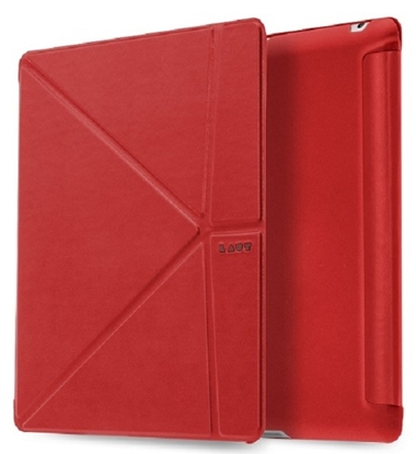 Picture of LAUT Trifolio iPad 2, 3, 4 Rood